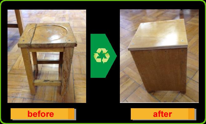 角椅子before-after