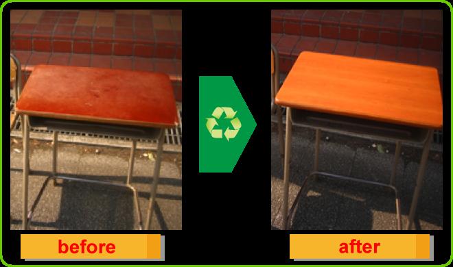 机(貼り付け)before-after