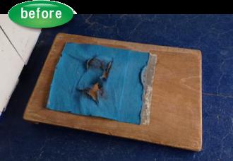 古いロイター板